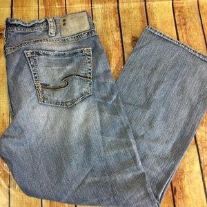 Silver Jeans Grayson Light Wash 38 X 30